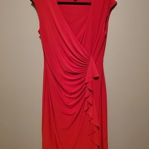 Amarican living red womans dress